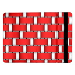 Weave And Knit Pattern Seamless Background Wallpaper Samsung Galaxy Tab Pro 12.2  Flip Case