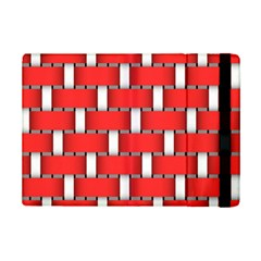 Weave And Knit Pattern Seamless Background Wallpaper Ipad Mini 2 Flip Cases