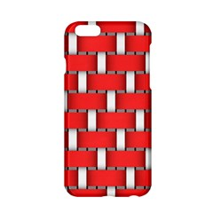 Weave And Knit Pattern Seamless Background Wallpaper Apple iPhone 6/6S Hardshell Case