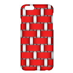 Weave And Knit Pattern Seamless Background Wallpaper Apple iPhone 6 Plus/6S Plus Hardshell Case
