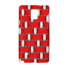 Weave And Knit Pattern Seamless Background Wallpaper Samsung Galaxy Note 4 Hardshell Case