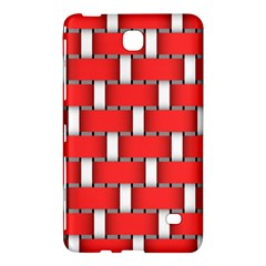 Weave And Knit Pattern Seamless Background Wallpaper Samsung Galaxy Tab 4 (8 ) Hardshell Case