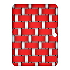 Weave And Knit Pattern Seamless Background Wallpaper Samsung Galaxy Tab 4 (10.1 ) Hardshell Case
