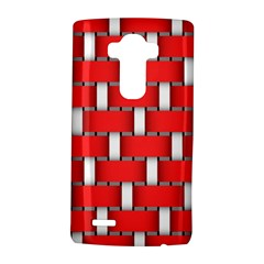 Weave And Knit Pattern Seamless Background Wallpaper LG G4 Hardshell Case