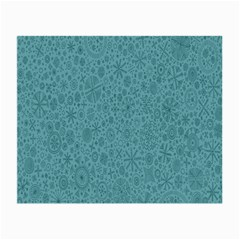 White Noise Snow Blue Small Glasses Cloth (2-Side)