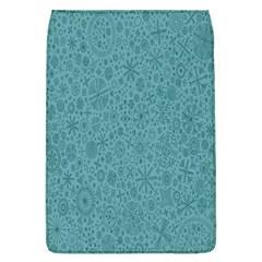 White Noise Snow Blue Flap Covers (L)