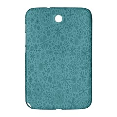 White Noise Snow Blue Samsung Galaxy Note 8.0 N5100 Hardshell Case