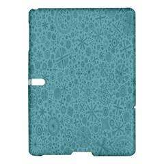 White Noise Snow Blue Samsung Galaxy Tab S (10.5 ) Hardshell Case