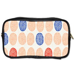 Wheel Circle Red Blue Toiletries Bags 2-Side