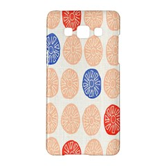 Wheel Circle Red Blue Samsung Galaxy A5 Hardshell Case