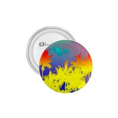 Tropical Cool Coconut Tree 1.75  Buttons