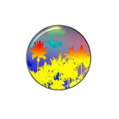 Tropical Cool Coconut Tree Hat Clip Ball Marker