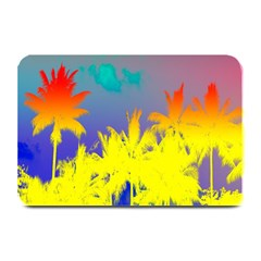 Tropical Cool Coconut Tree Plate Mats