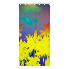 Tropical Cool Coconut Tree Shower Curtain 36  x 72  (Stall)