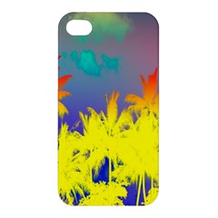 Tropical Cool Coconut Tree Apple iPhone 4/4S Hardshell Case