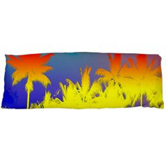 Tropical Cool Coconut Tree Body Pillow Case Dakimakura (Two Sides)