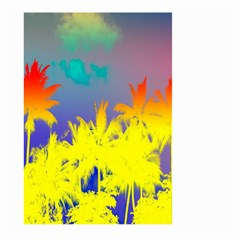 Tropical Cool Coconut Tree Large Garden Flag (Two Sides)