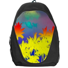 Tropical Cool Coconut Tree Backpack Bag
