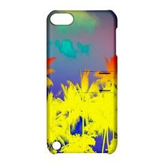 Tropical Cool Coconut Tree Apple iPod Touch 5 Hardshell Case with Stand