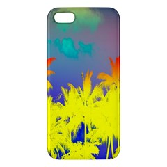 Tropical Cool Coconut Tree Apple iPhone 5 Premium Hardshell Case