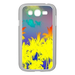 Tropical Cool Coconut Tree Samsung Galaxy Grand DUOS I9082 Case (White)