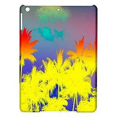 Tropical Cool Coconut Tree iPad Air Hardshell Cases