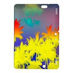 Tropical Cool Coconut Tree Kindle Fire HDX 8.9  Hardshell Case