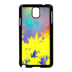 Tropical Cool Coconut Tree Samsung Galaxy Note 3 Neo Hardshell Case (Black)