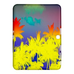 Tropical Cool Coconut Tree Samsung Galaxy Tab 4 (10.1 ) Hardshell Case