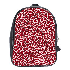 Tangled Thread Red White School Bags (XL)