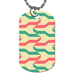 Exturas On Pinterest  Geometric Cutting Seamless Dog Tag (Two Sides)