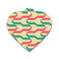 Exturas On Pinterest  Geometric Cutting Seamless Dog Tag Heart (One Side)