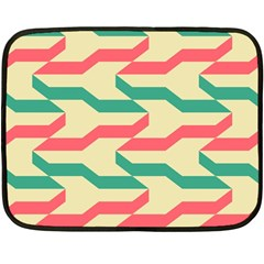 Exturas On Pinterest  Geometric Cutting Seamless Double Sided Fleece Blanket (Mini)