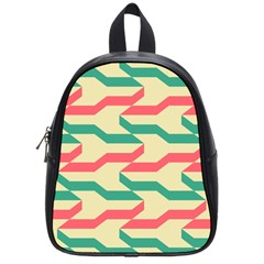 Exturas On Pinterest  Geometric Cutting Seamless School Bags (Small)