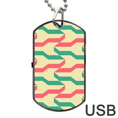 Exturas On Pinterest  Geometric Cutting Seamless Dog Tag USB Flash (One Side)