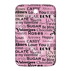 Valentine Love Heart Roses Sweet Pink Samsung Galaxy Note 8.0 N5100 Hardshell Case