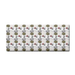 Cow Eating Line Cosmetic Storage Cases