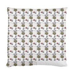 Cow Eating Line Standard Cushion Case (Two Sides)