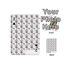 Cow Eating Line Playing Cards 54 (Mini)