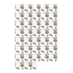 Cow Eating Line Shower Curtain 48  x 72  (Small)