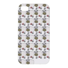Cow Eating Line Apple iPhone 4/4S Hardshell Case