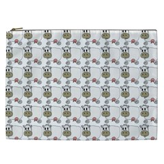 Cow Eating Line Cosmetic Bag (XXL)