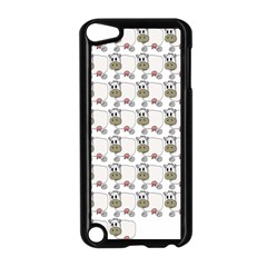 Cow Eating Line Apple iPod Touch 5 Case (Black)