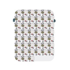 Cow Eating Line Apple iPad 2/3/4 Protective Soft Cases