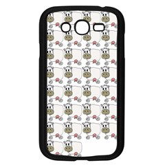 Cow Eating Line Samsung Galaxy Grand DUOS I9082 Case (Black)