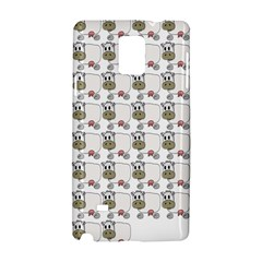 Cow Eating Line Samsung Galaxy Note 4 Hardshell Case