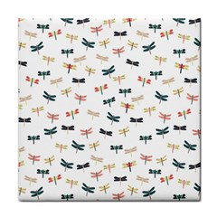 Dragonflies Animals Fly Tile Coasters