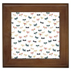Dragonflies Animals Fly Framed Tiles