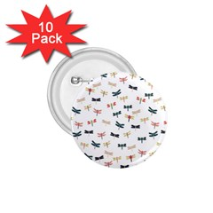 Dragonflies Animals Fly 1.75  Buttons (10 pack)