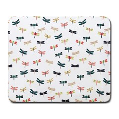 Dragonflies Animals Fly Large Mousepads